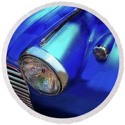 1940 Chevy Special Deluxe Round Beach Towel