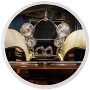 1941 Bugatti Type 41 Royale At The Henry Ford Museum Round Beach Towel