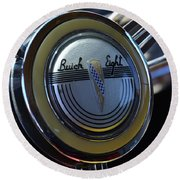 1941 Buick Eight Round Beach Towel