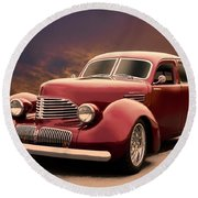 1941 Hollywood Graham Sedan I Round Beach Towel