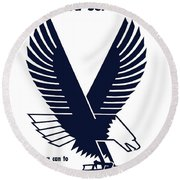 1943 Victory Book Campaign Round Beach Towel