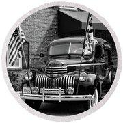 1946 Chevrolet Round Beach Towel