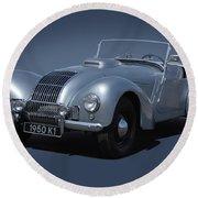 1950 Allard K1 Roadster Round Beach Towel