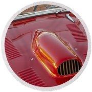1951 Allard K2 Roadster 3 Round Beach Towel