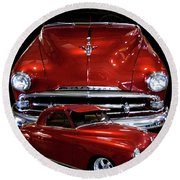 1951 Business Coupe Round Beach Towel