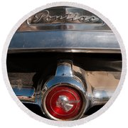 1951 Pontiac Coupe #3 Round Beach Towel