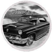 1953 Mercury Monterey On Bonneville Art Print By Peter Piatt