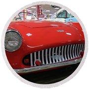 1954 Kurtis 500m Automobile  Round Beach Towel