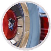 1954 Mercury Monterey Merco Matic Spare Tire Round Beach Towel