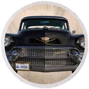 1956 Cadillac Special Round Beach Towel