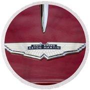 1957 Aston Martin Round Beach Towel