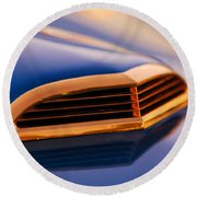 1957 Ford Thunderbird Scoop Round Beach Towel