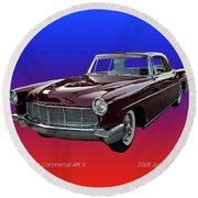 1957 Lincoln M K I I Round Beach Towel