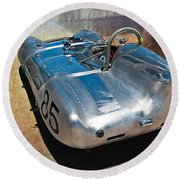 1957 Lotus Eleven Le Mans Round Beach Towel