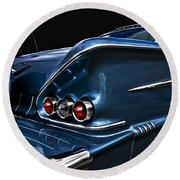 1958 Chevrolet Bel Air Impala Round Beach Towel
