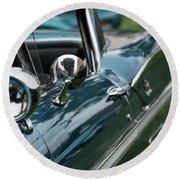 1958 Chevrolet Impala - 4 Round Beach Towel