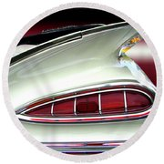 1959 Chevrolet Impala Tail Round Beach Towel