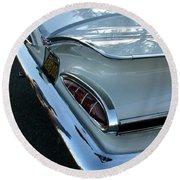 1959 Chevrolet Impala Tailfin Round Beach Towel