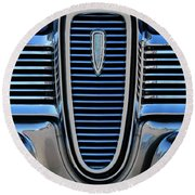 1959 Edsel Villager Grille Round Beach Towel