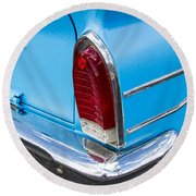 1961 Rambler Cross Country Tail Light Round Beach Towel