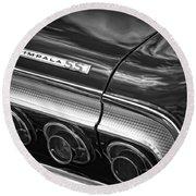 1964 Chevrolet Impala Ss Round Beach Towel