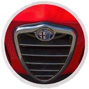 1966 Alfa Romeo Emblem Round Beach Towel