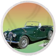 1966 Morgan 4 Plus 4 Round Beach Towel
