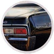 1967 Chevy Impala Ss Round Beach Towel by Gordon Dean II