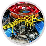 1967 Ford Molly Mustang Round Beach Towel