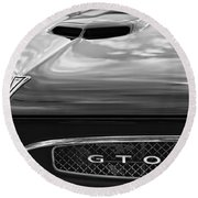 1967 Pontiac Gto Round Beach Towel by Gordon Dean II