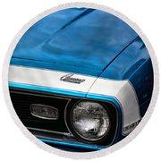 1968 Chevy Camaro Ss 396 Round Beach Towel by Gordon Dean II