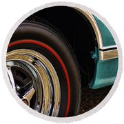 1969 Dodge Coronet 500 Round Beach Towel