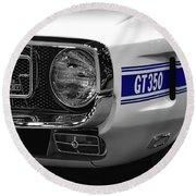 1969 Ford Mustang Shelby Gt350 1970 Round Beach Towel