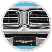 1969 Pontiac Gto  Round Beach Towel