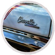 1970 Chevy Chevelle Ss 396 Ss396 Round Beach Towel
