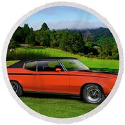 1972 Buick Gsx 455 Stage 1 Round Beach Towel