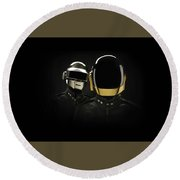19863 Daft Punk Round Beach Towel