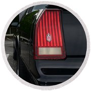 1988 Monte Carlo Ss Tail Light Round Beach Towel