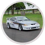 1995 Clarion Mustang Gt Herr Round Beach Towel