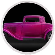1932 Ford Hot Rod Round Beach Towel