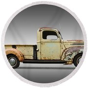 1946 Ford Pickup Truck Round Beach Towel