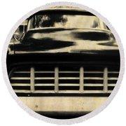 1957 Chevy Round Beach Towel