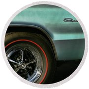 1966 Dodge Coronet 500 Round Beach Towel
