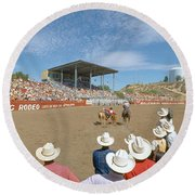 75th Ellensburg Rodeo, Labor Day Round Beach Towel