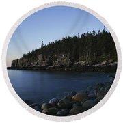 Acadia National Park Round Beach Towel