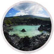 Ahihi Kinau Natural Reserve Round Beach Towel