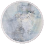 An Unchanging Will Round Beach Towel
