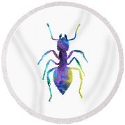 Ant Round Beach Towel
