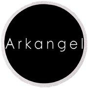 Arkangel Round Beach Towel