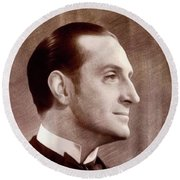 Basil Rathbone, Actor Round Beach Towel